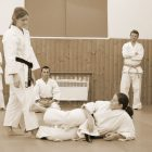Karate Training Frauen